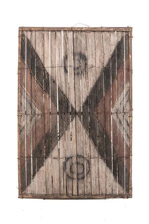 Old bamboo panel #37 - Salampasu