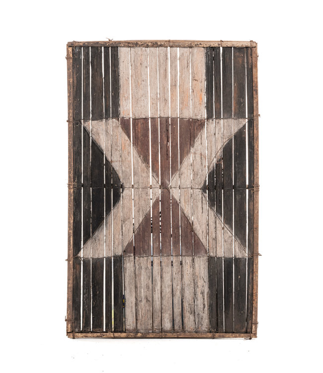 Old bamboo panel #38 - Salampasu