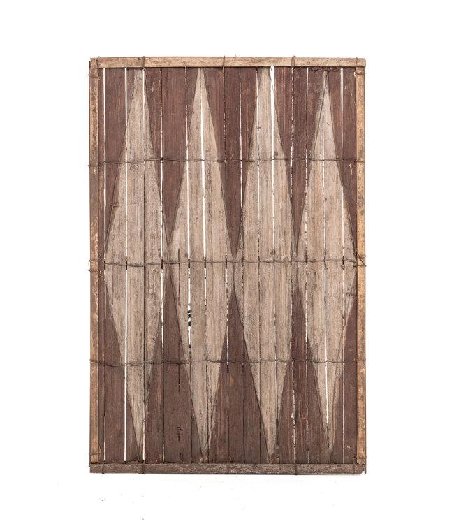 Old bamboo panel #39 - Salampasu
