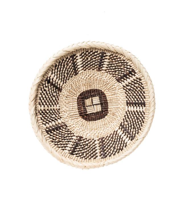 Binga basket white border Ø21cm #1