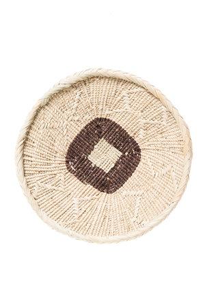 Binga basket white border Ø20cm #3
