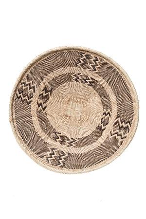 Binga basket white border Ø46cm #19