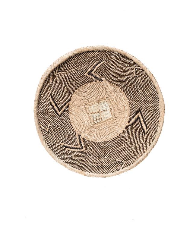 Binga basket white border Ø42cm #14