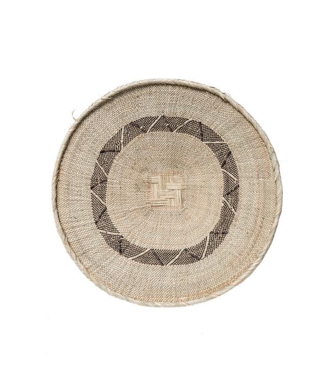 Binga basket white border Ø57cm #27