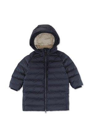 Konges Sløjd Ace long rain down jacket - midnight navy