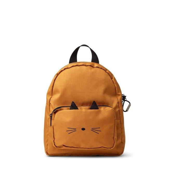Allan backpack - cat mustard