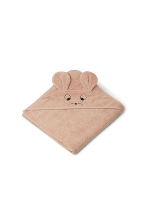 Liewood Augusta hooded towel - mouse pale tuscany