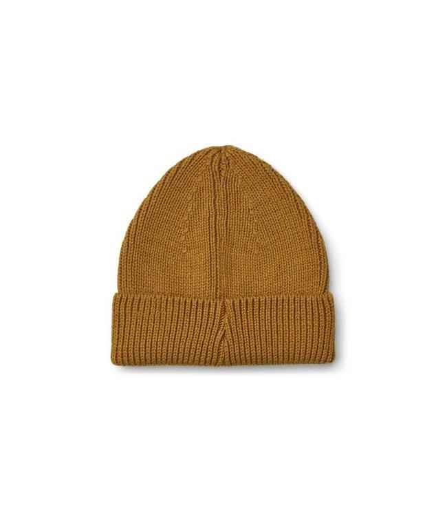 Ezra beanie - golden caramel