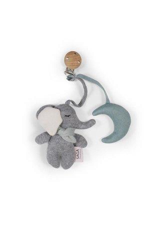 Saga Copenhagen Pram toy Gina - cloud blue