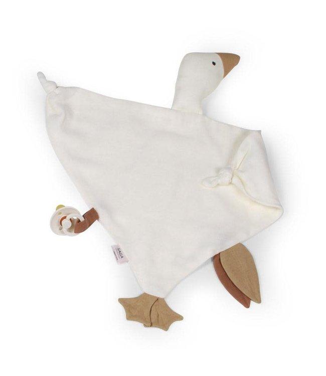 Saga Copenhagen Cuddle goose Bliki - cream