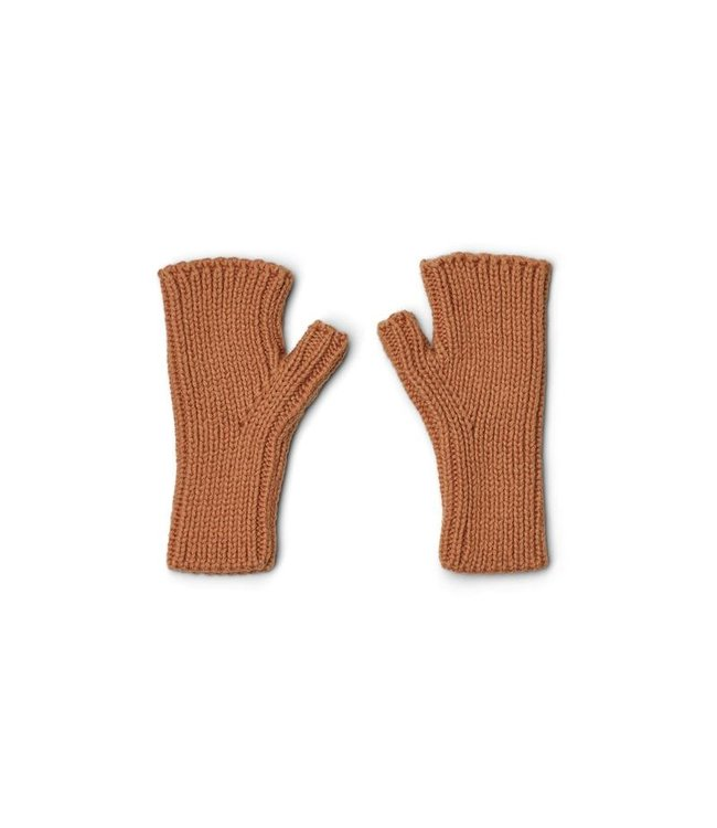 Liewood Finn fingerless mittens - tuscany rose