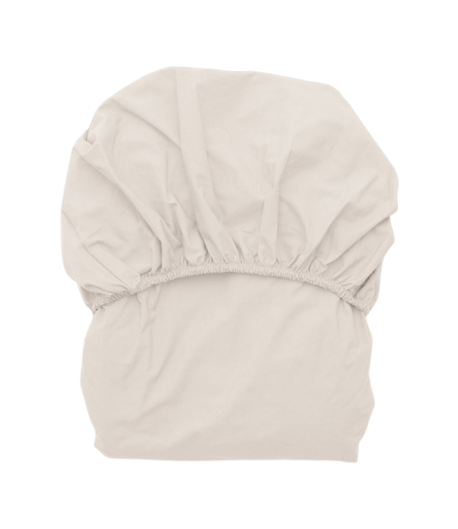 Ivory fitted sheet junior