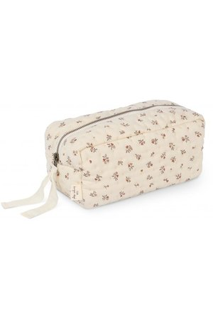 Konges Sløjd Quilted toiletry bag - petit amour rose