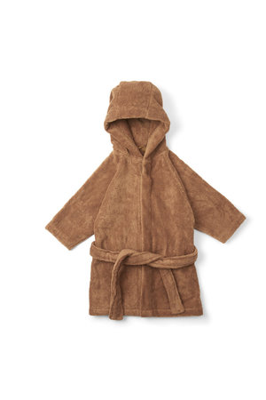 Konges Sløjd Kids terry bathrobe - almond