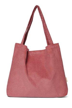 Studio Noos Smokey rose rib mom bag