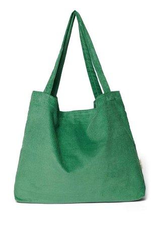 Studio Noos Bright green rib mom bag