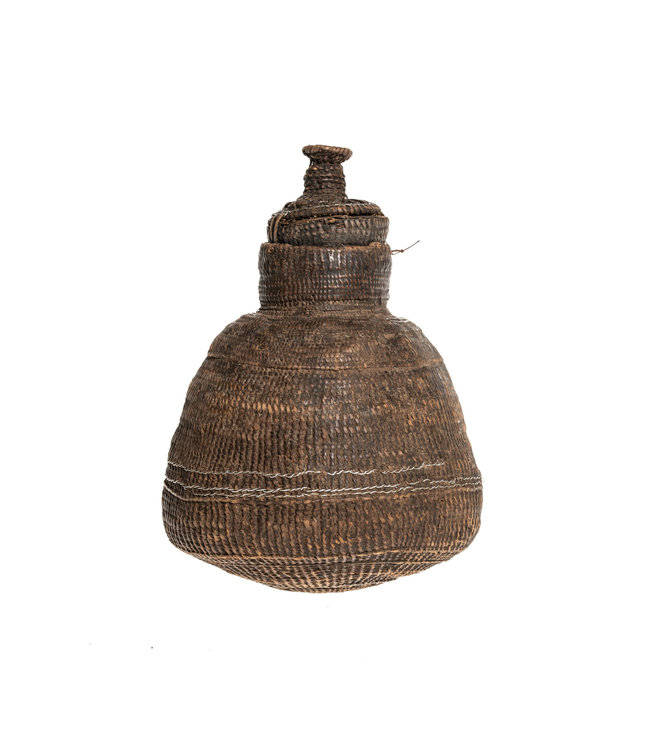 Borana Chocho milk container - basket #43
