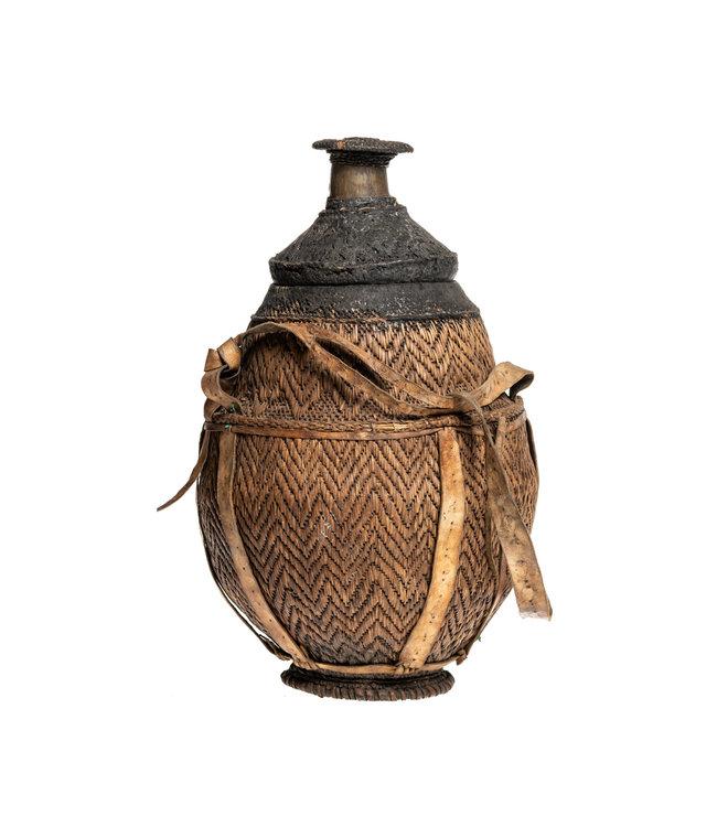 Borana Chocho milk container - basket #48