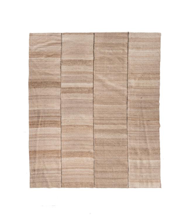 Kelim tapijt, beige #2 - Turkije - 300 x 251cm
