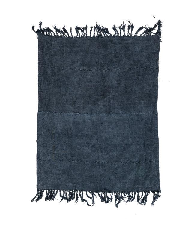 Vintage hemp rug, blue #1 - Turkey - 240 x 189cm