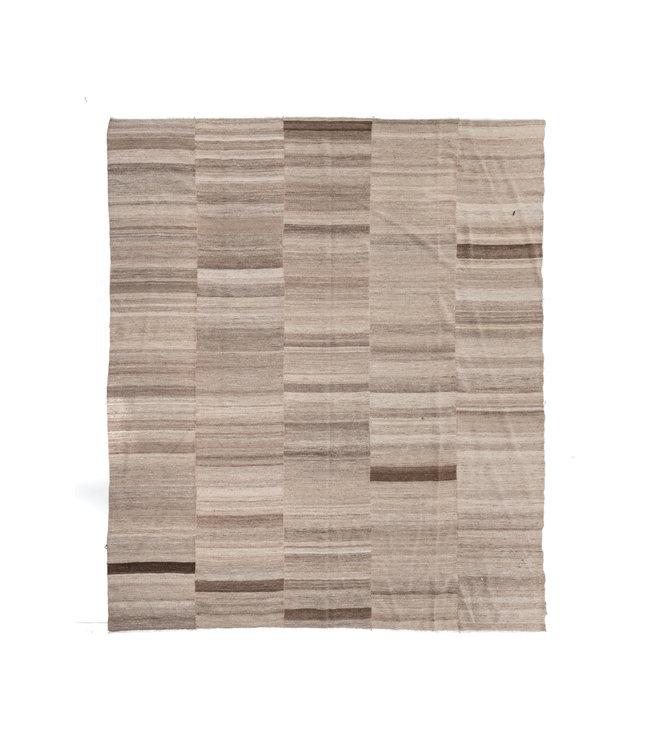 Kelim rug, beige #3 - Turkey - 378 x 320cm