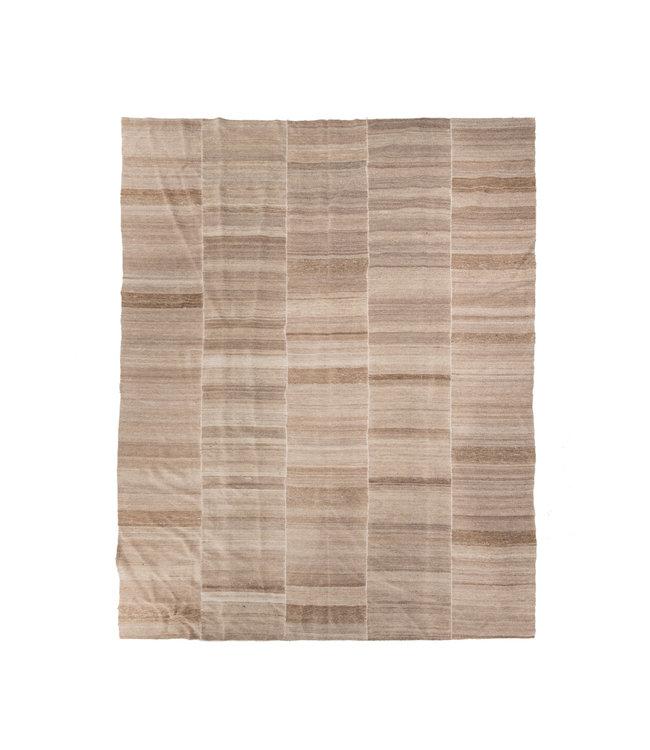 Kelim tapijt, beige #4 - Turkije - 394 x 312cm