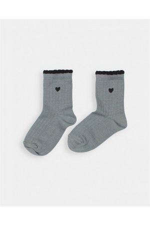 Buho Frill socks - storm grey