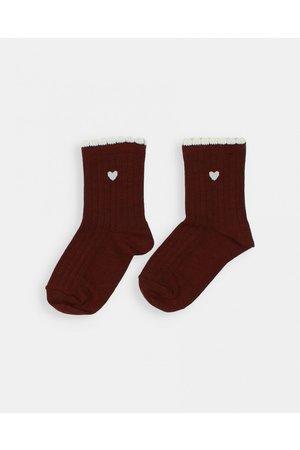 Buho Frill socks - henna