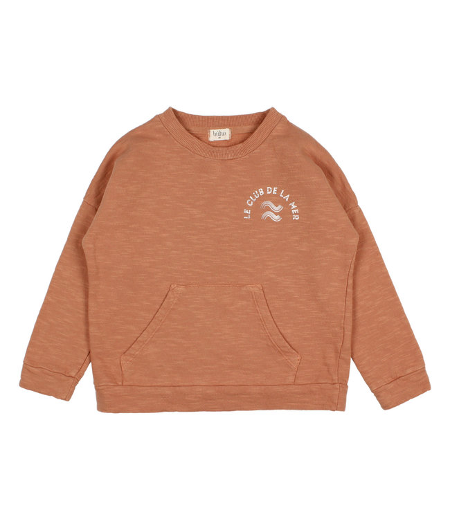 Buho Pocket sweatshirt - hazel