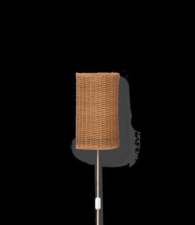 Ferm Living Dou wall lamp - natural