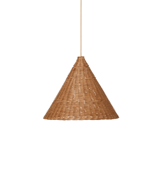 Ferm Living Dou lamp rattan Ø45 - natural