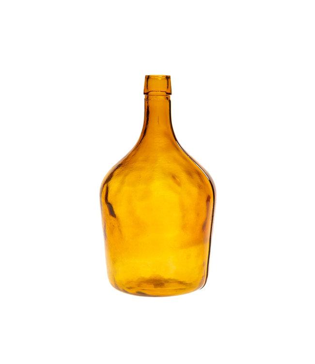Glazen fles #13 - oranje