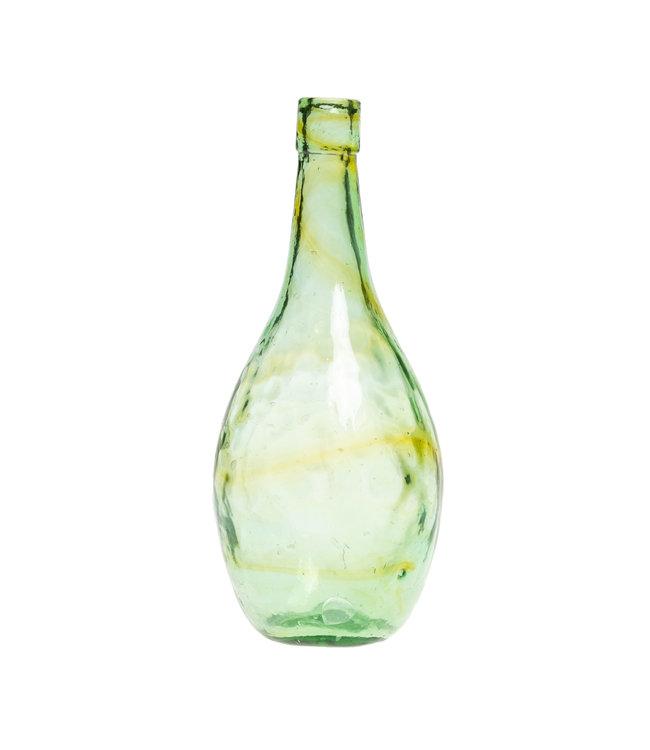 Glass vase #20 - light green