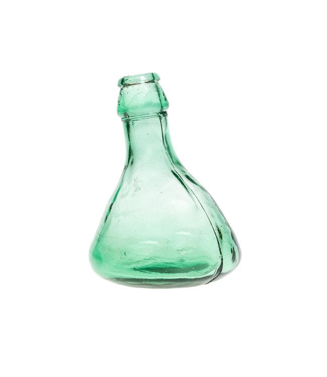 Little glass vase #24 - green