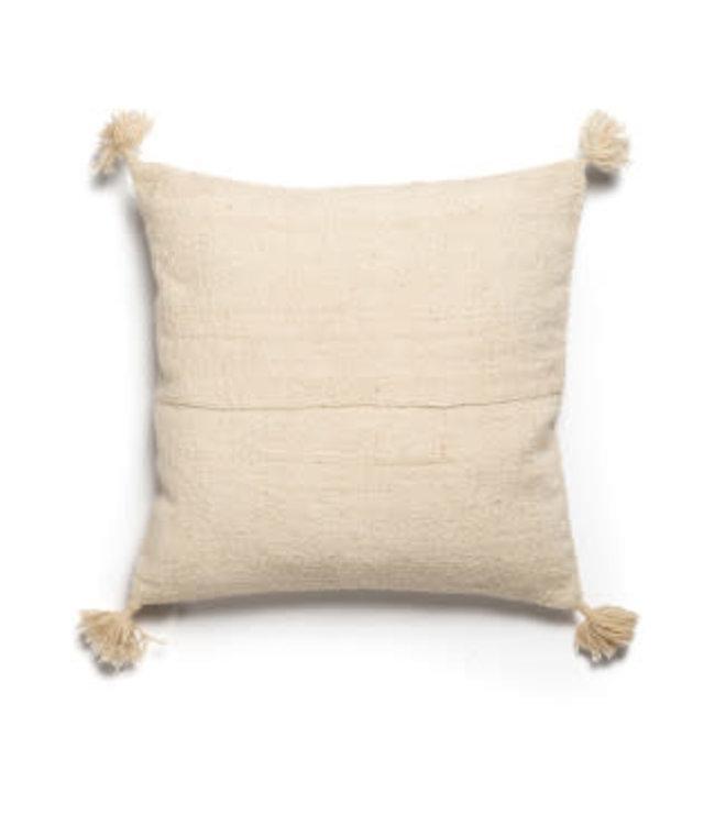 Cushion Afghanistan with pompom 60x60 #71