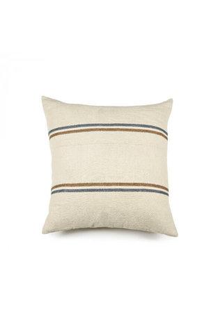 Libeco Auburn deco cushion - stripe