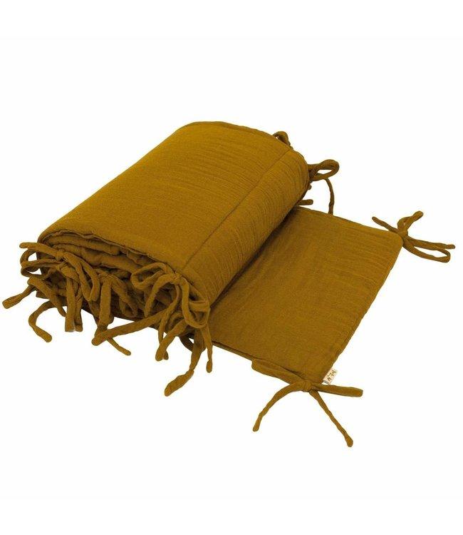 Numero 74 Bed bumper -  gold