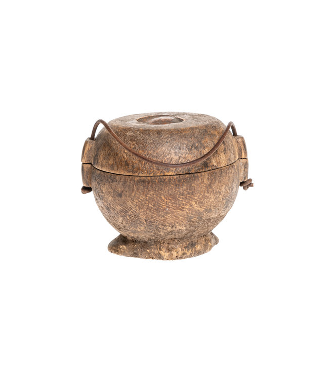 Old food jar Tibet #30