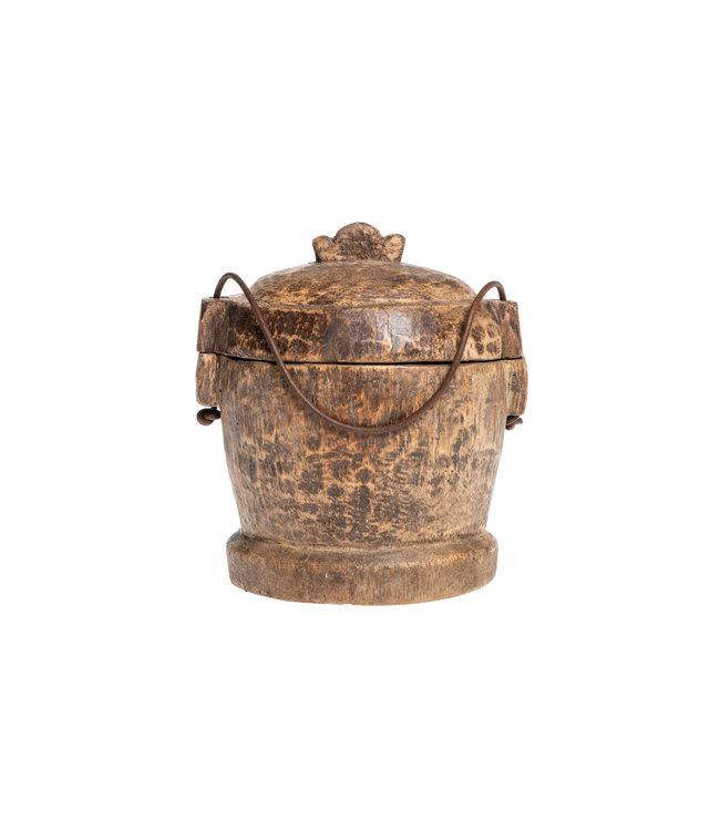 Old food jar Tibet #31