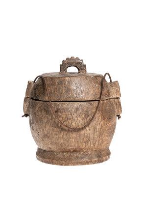 Old food jar Tibet #33