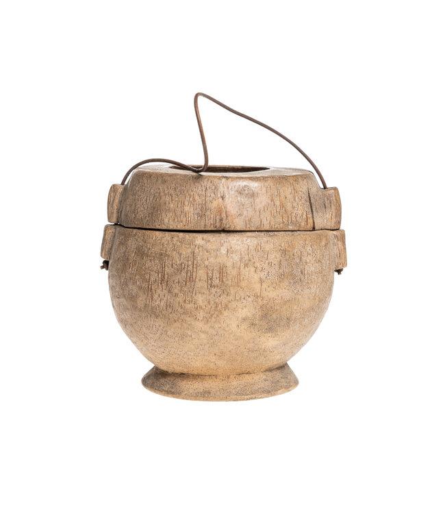 Old food jar Tibet #34