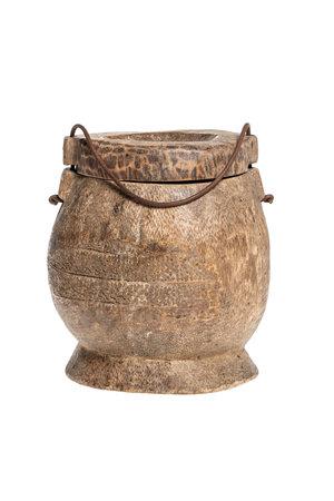Old food jar Tibet #35