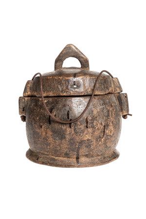 Old food bowl Tibet #37