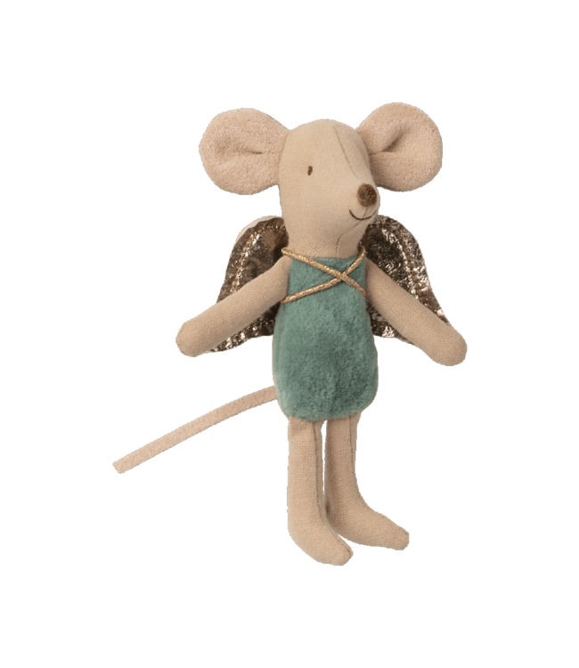Fairy mouse, little - turquoise