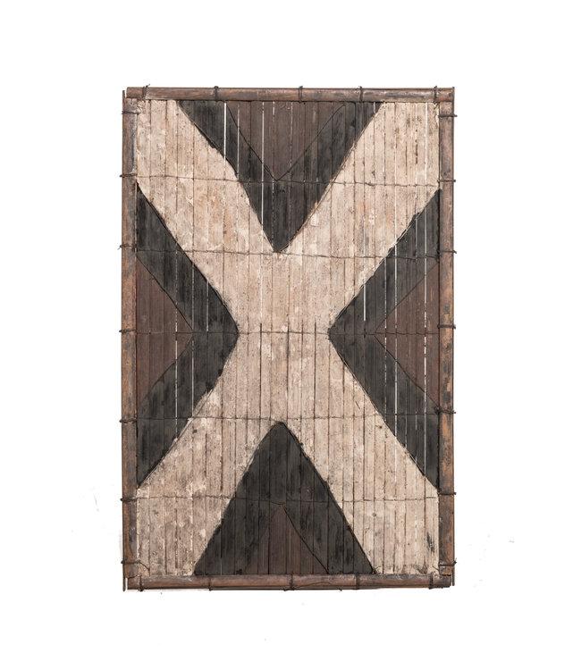 Old bamboo panel #43 - Salampasu