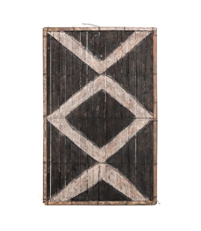 Old bamboo panel #42 - Salampasu