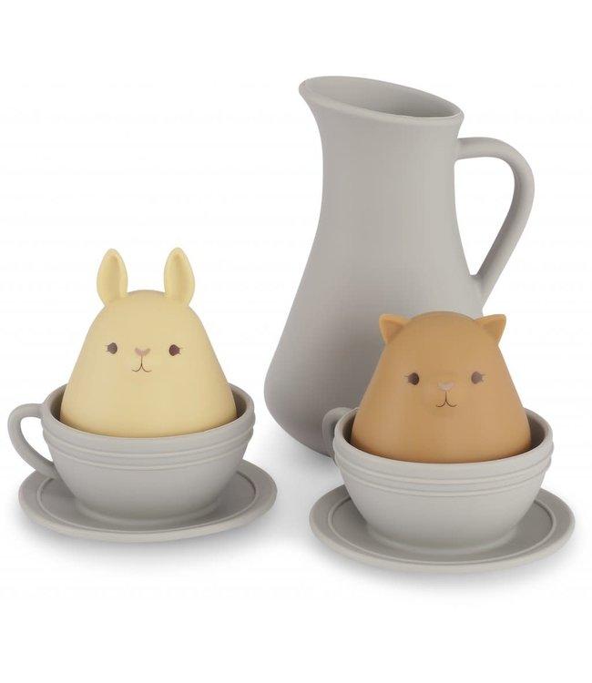 Silicone bath toys cup set - topanga beach