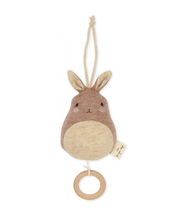 Konges Sløjd Music toys cutie bunny- sand