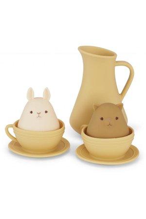 Konges Sløjd Silicone bath toys cup set - limonade