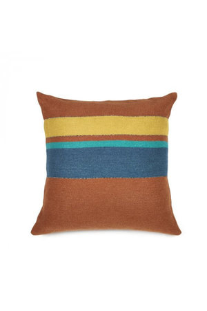 Libeco Redwood deco-kussen - stripe